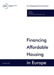 Financingaffordablehousingineuropenovember2016 1
