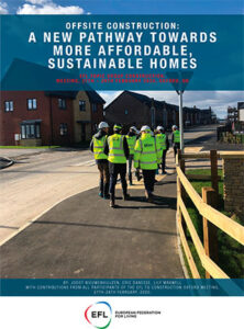 Efl brochure a new pathway towards more affordable sustainable homes 2020,