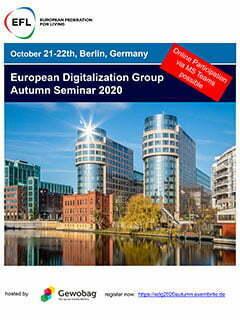 European Digitisation Group Autumn Seminar on October 20 – 21 in Berlin