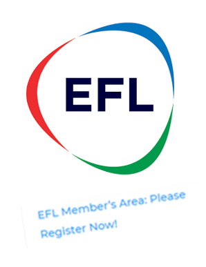 EFL Member's Area: Please Register Now!