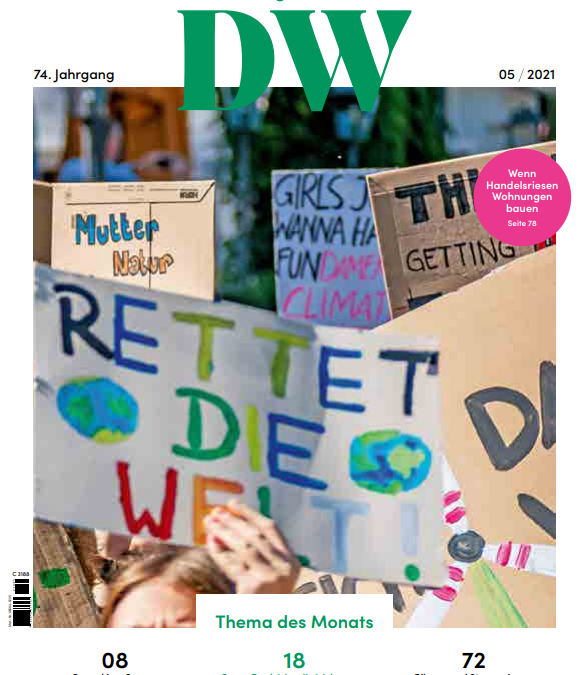 EFL in the news: article published by DW die Wohnungswirtchaft